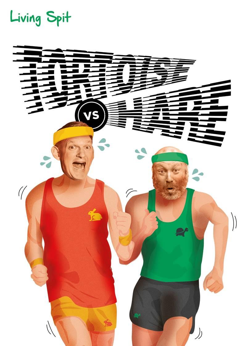 Living Spit: Tortoise vs. Hare