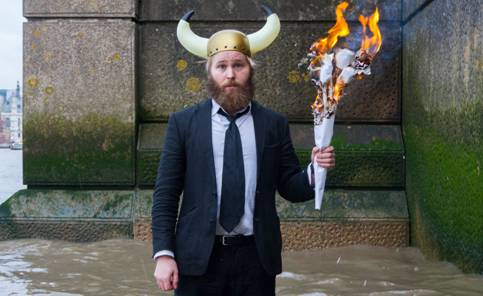 Tangram Theatre presents James Rowland: Team Viking